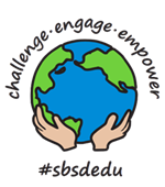 SBSD Challenge, Engage, Empower Logo