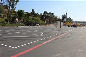 Blacktop Play Area