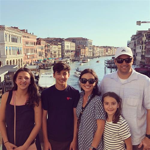 Erkam family in Venice, Italy