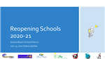 reopening schools presentation cover graphic