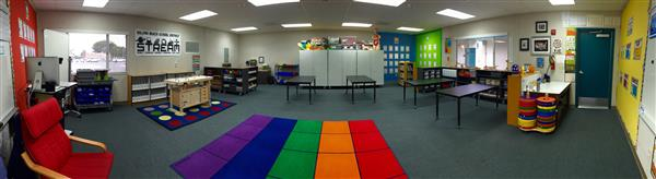 Solana Vista's STREAM lab is a flexible learning space to support robotics, engineering and science standards.