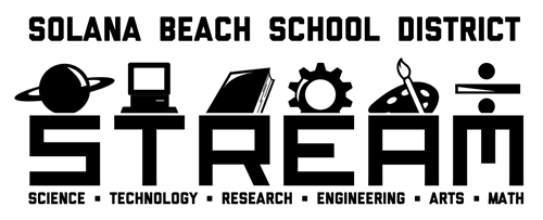 Solana Beach School District's STREAM program stands for Science, Technology, Research, Engineering, Arts and Math.