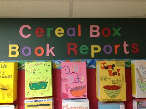 Cereal Box Samples. Sample 1. Sample 2