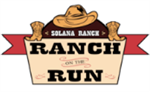 Ranch on the Run Logo with cowboy hat and boots.