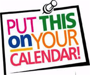 Sign posted that says Put This on Your Calendar