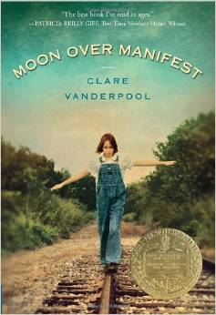 Moon Over Manifest book cover