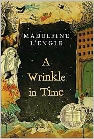 A Wrinkle in Time book cover.