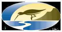 A photo of the Solana Pacific logo, a sandpiper